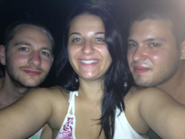 David, eu e Heitor